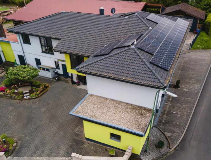 KSE - Referenz Privatkunden Photovoltaik Fulda