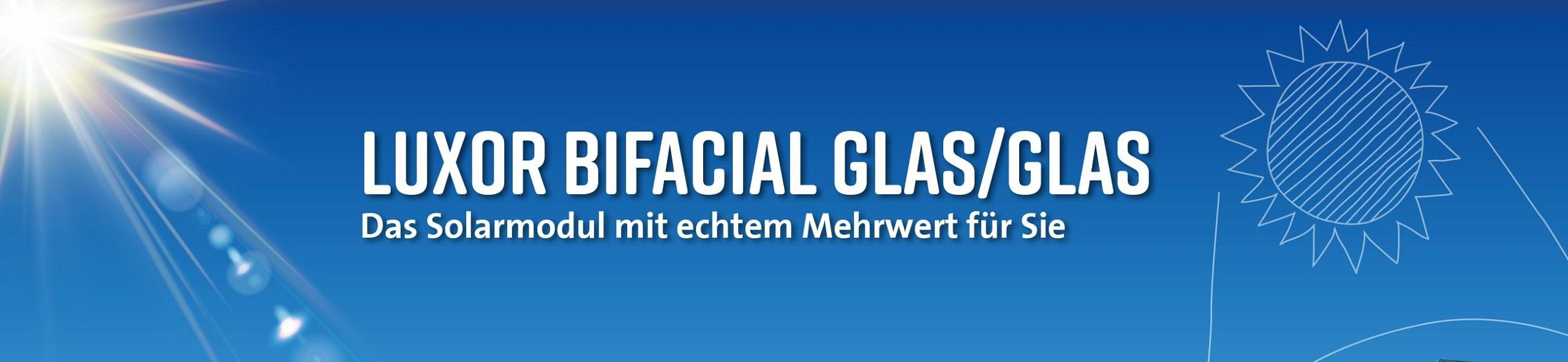 KSE - Luxor Bifacial Glas